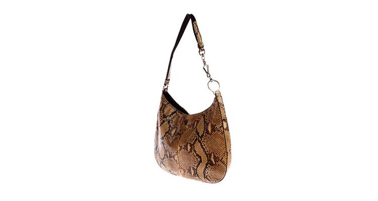 prada(普拉达) 棕色蟒蛇纹小肩包